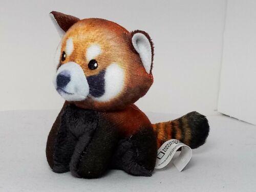 2018 Mcdonalds HAPPY MEAL National Geographic Kids #5 Red Panda De Pelúcia aberto