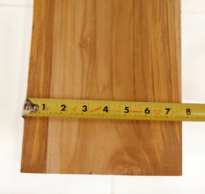 ONE teak board 1.75 inch thick, PLANED at least 40 inches long + 5 inches wide