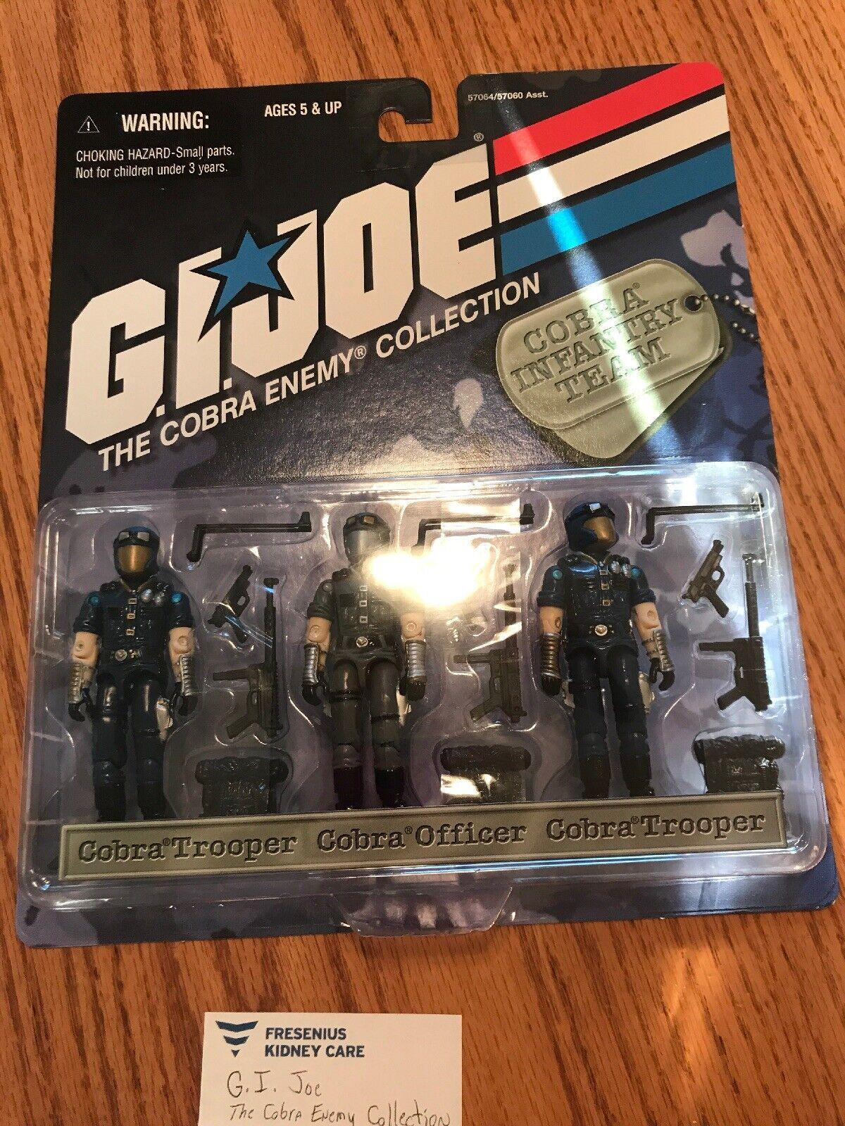 Gi Joe The Covra Enemy collezione Cobra Infantry squadra