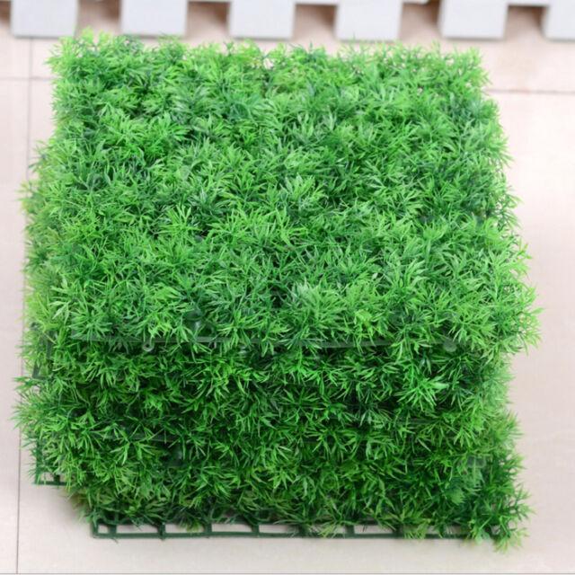 Square Artificial Plastic Water Green Plant Grass for Fish Tank Aquarium