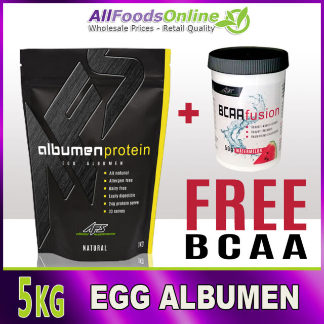 Egg Albumen - Egg White Powder - Egg Protein - Albumen Protein - Natural - 5kg