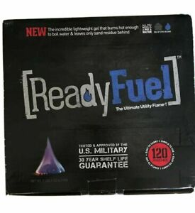 117 Count Ready Fuel Fire Gel Survival Gear Tinder Camping or Bug Out Bag!