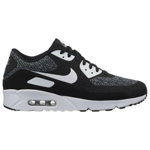 Details about Nike Air Max 90 Ultra 2.0 Essential Mens 875695 019 Black White Shoes Size 9.5
