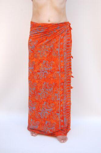 premium qualité paréo Chiffon Jupe portefeuille tenture murale sari pagne sa360p Sarong