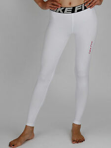 White Running Leggings