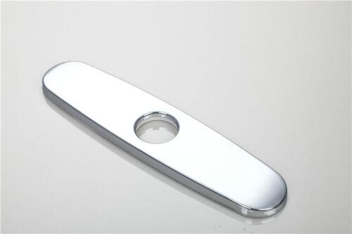 10/'/' Bathroom Kitchen Sink Faucet Hole Decorate Plate Escutcheon Deck Cover 1