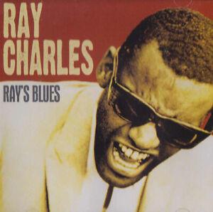 RAY-CHARLES-RAY-039-S-BLUES-Original-CD-2007-the-genius-soul-rock-pop-rock