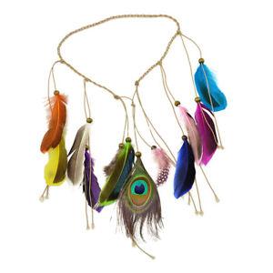 Peacock-Feather-Boho-Tassel-Headband-Hair-Band-Indian-Feathers-Headpiece