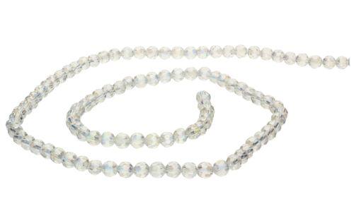 TCHÈQUE CRISTAL Perles de verre cristal à partir de 6 mm environ 20 pcs #g246