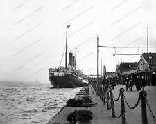8x10 Print Historic Cunard RMS Franconia Liverpool Merseyside England 1912 #757