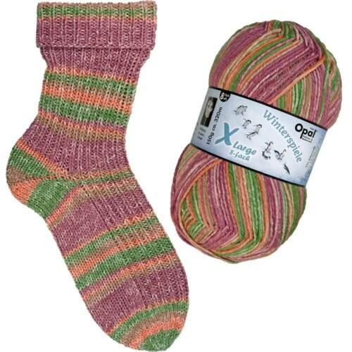 OPAL *Winterspiele 8-fach* 150g Sockenwolle 8-fach Wolle,stricken,Socken
