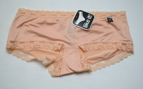 like it Nina von C Lace Hipster Slip Panty Shorty mit Spitze viele Farben NEU