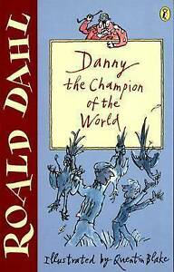 Danny-the-Champion-of-the-World-Puffin-Fiction-by-Roald-Dahl-Acceptable-Used