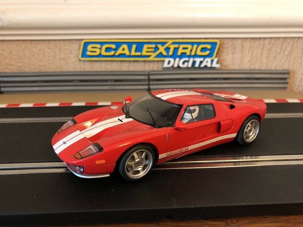 Scalextric Digital  Top Gear The Stig  Ford GT Excellent Condition