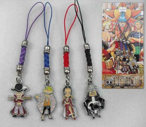 One Piece  Nico·Robin  phone chain set of 4pcs phone straps cute Chains UB