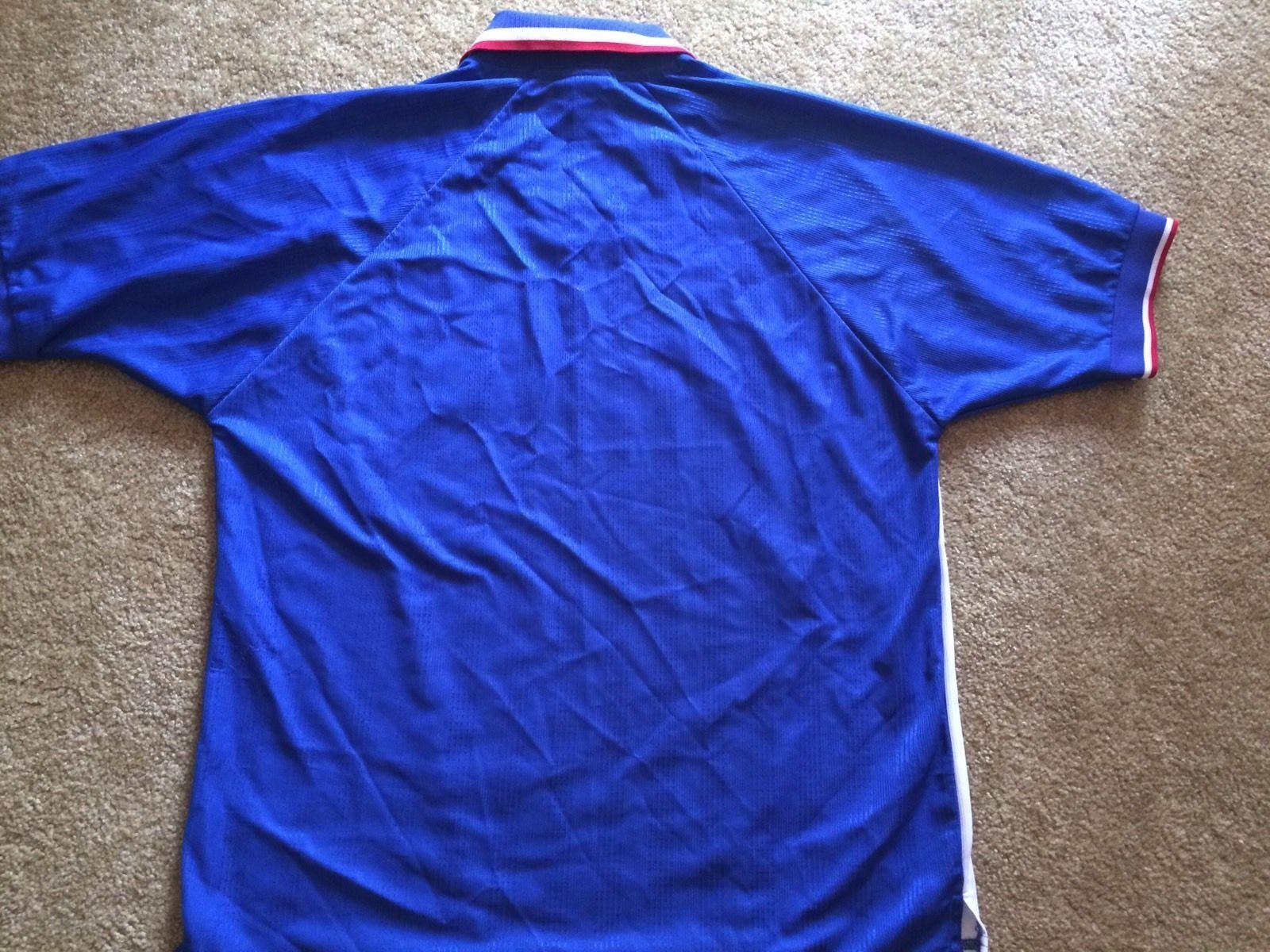 Retro Oldham Casa Athletic FC 1998/2000 Inghilterra Maglia Casa Oldham Jersey Pony Uomo Sz L 25a1d9