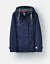 Joules-Y-Coast-Waterproof-Hooded-Jacket-French-Navy thumbnail 1