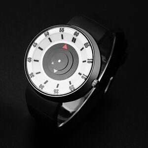 Mode-Herren-Concept-Sportuhr-Digital-Dial-Edelstahl-Analog-Quarz-Armbanduhr-Uhr