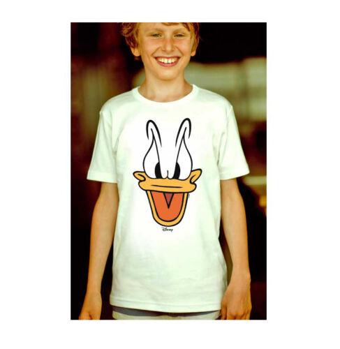 LOGOSHIRT Comics Donald Duck Kinder T-Shirt Gesicht Matrose Disney