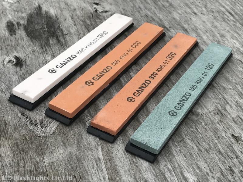 Ganzo Couteau Couteau Couteau Affûtage Pierres 120 320 600 1500 Grit Bushcraft Survie Edc 89a0d7