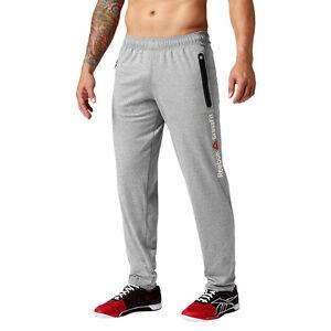 Dettagli su Men's Pantaloni della Tuta Reebok Crossfit speedwick Pantalone Allenamento Traspirante Pantaloni 2xl mostra il titolo originale
