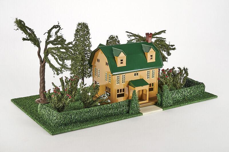 Lot 4183 MTH Lionel lamiera-Periferia-villa con giardino, senffarbend, OVP, traccia 0