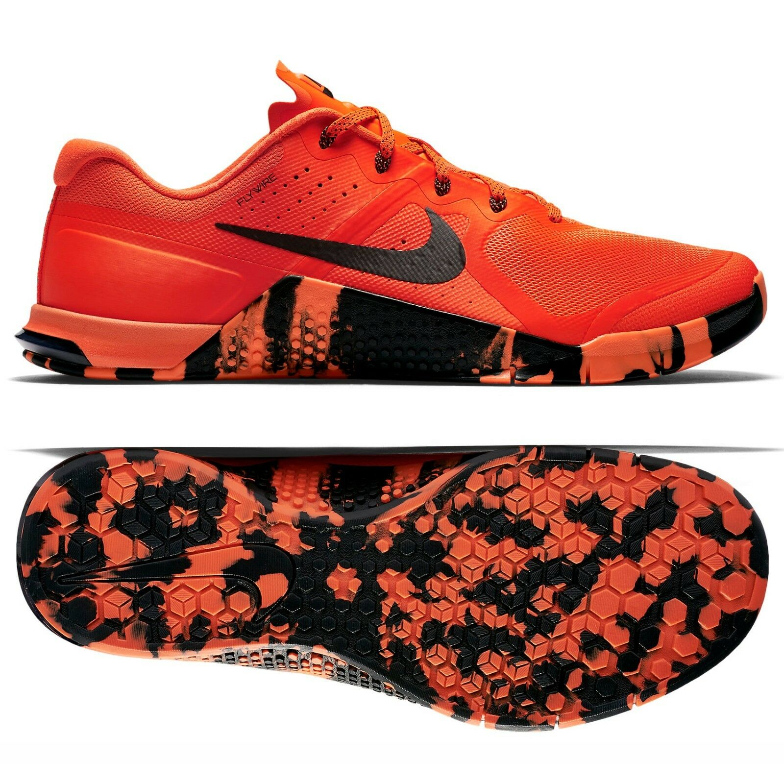 Nike Metcon 2 AMP 'Strong As Steel' 819902-600 Total Crimson/Black Men's Shoes