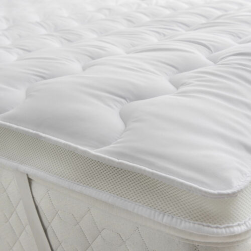 Luxury Microfibre Mattress Topper Ultra Soft Air-Flow Breathable Mattress