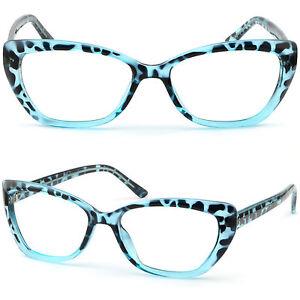 7f0067cfa5e Light Blue Cateye Cat Eye Women s Plastic Frames Prescription ...