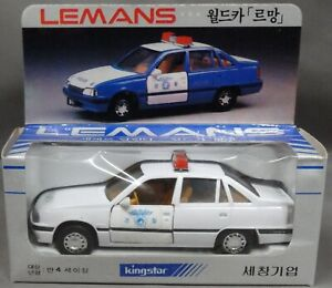 Kingstar-4-x-Daewoo-Le-Mans-1-35-new-in-Box-very-rare-see-pictures-free-shipping