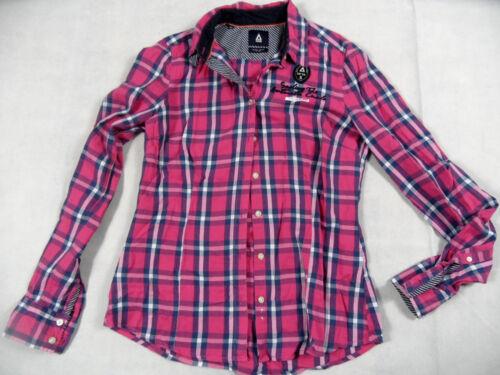 Top Schöne Karierte Gr Kos718 Bluse Pink Gaastra M A6qSwqF