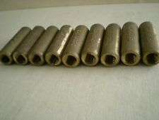 Galvan 60 C Leh 58r Threaded Cast Brass Ground Rod Coupling 58 Lot Of 9