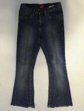 Fishbone  Jeans Hose Schlaghose Blau Stonewashed W28 L32