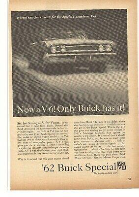 1962 Buick Special Advertisement Merchandise & Memorabilia Advertising-print