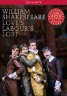 Love's Labour's Lost - Globe Theatre (DVD, 2010)