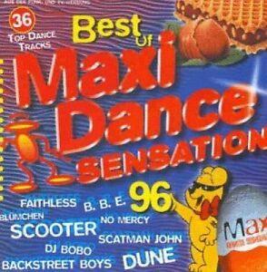 Maxi-Dance-Sensation-039-96-Best-of-Faithless-BBE-Scooter-Mr-President-2-CD