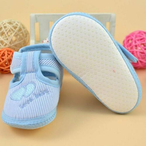 Newborn Girl Boy Soft Sole Crib Shoes Toddler Kids Walker Infant Shoes Sneaker