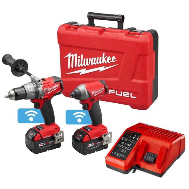Milwaukee 2796-22 M18 FUEL 18-Volt Cordless Power 2-Tool Combo Kit w/ One Key