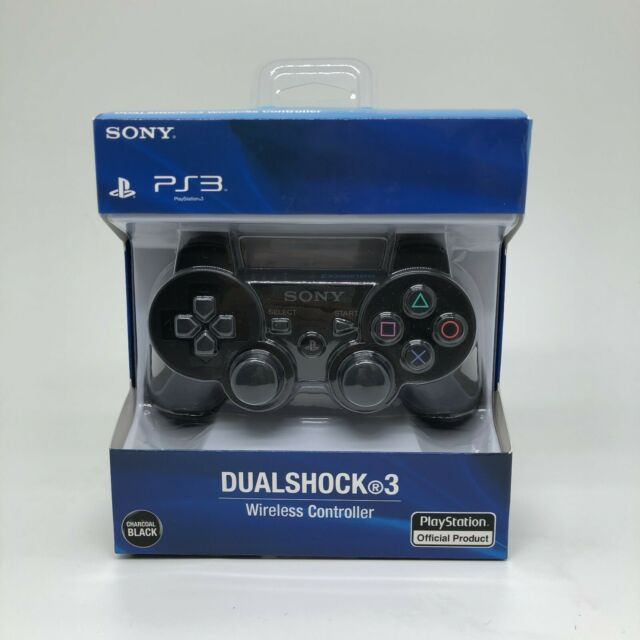 Sony PS3 Playstation DualShock 3 Wireless Bluetooth Controller black New.