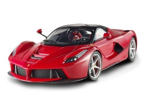 "Hot Wheels Elite Ferrari Laferrari 2013 Rojo Bct79 1/18 Edición Limitada ""Raro"""