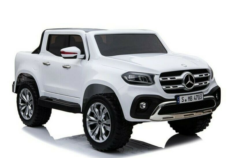 Mercedes X-Class AMG Licensed Kids Electric Ride On Car - White