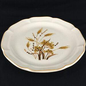 VTG-Chop-Plate-Round-Platter-11-5-8-034-by-Sangostone-Autumn-Wheat-2390-Korea