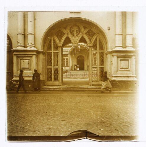 Russland РОССИЯ Fotografie Stereo Th4Rn43 Platte Gläser Vintage c1900-10