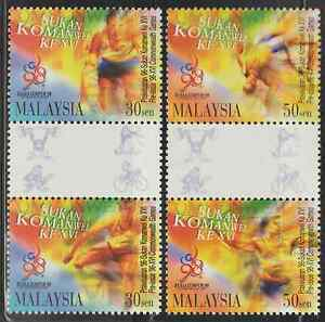 206-MALAYSIA-1996-PRE-ISSUE-COMMONWEALTH-GAMES-SET-FRESH-MNH