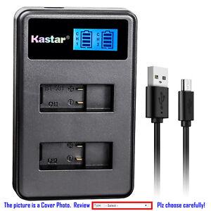Details about Kastar Battery Slim USB Charger for GoPro AHDBT-701 Gopro7  GoPro Hero 7 HD Black