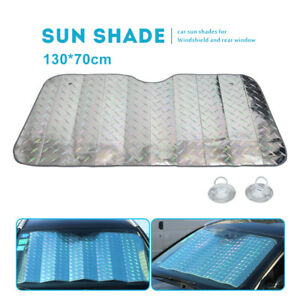 Car-Windscreen-Sun-Shade-UV-Protector-Windshield-Dust-Cover-For-hatchback-SUV