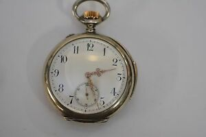 J-Calame-Robert-Repeater-Pocket-Watch-Sterling-Silver