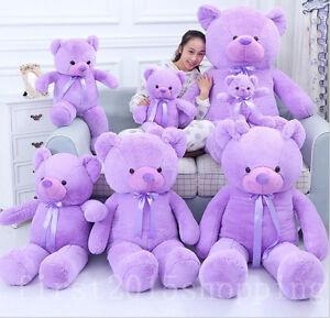 16''-63'' Big Cute Plush Stuffed Teddy Bear Beanbag plush Baby Soft Toys gift