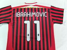 MAGLIA CALCIO AC MILAN 2012 IBRAHIMOVIC TAGLIA 4 ANNI YEARS UFFICIALE RITORNO 3