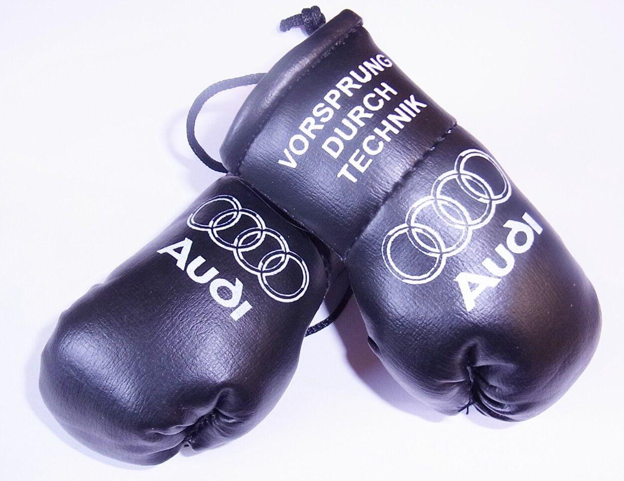AUDI Mini Gants de boxe boxe boxe noir Vorsprung Durk TECKNIC 6c1fcf